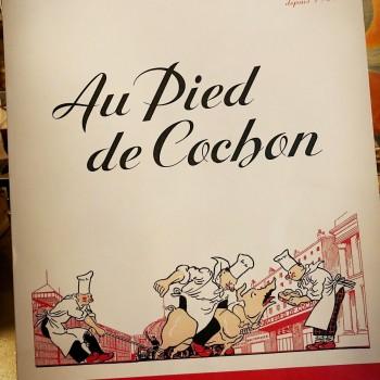 """Ballade parisienne...  Restaurant """"Au Pied de Cochon"""""""