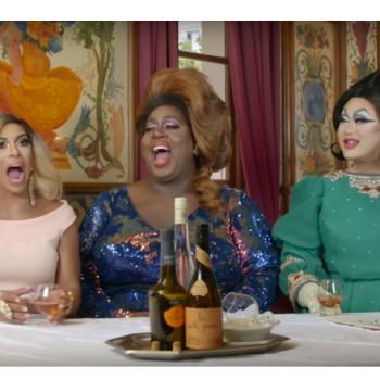Les drag queens Au Pied de Cochon !